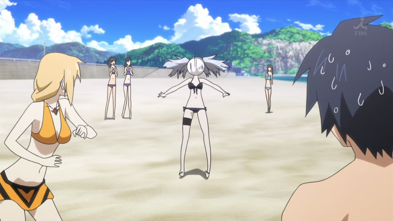 Infinite Stratos Ep 09: Why beach episodes are obligatory ...